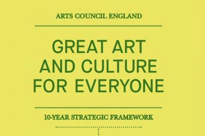 Cover of Great art and culture for everyone.