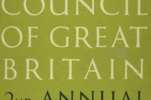 Cover of The Arts Council of Great Britain - 2nd Annual Report 1946-7.