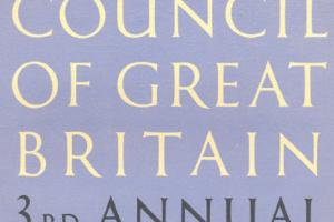 Cover of The Arts Council of Great Britain - 3rd Annual Report 1947-8.