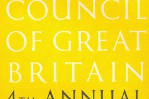 Cover of The Arts Council of Great Britain - 4th Annual Report 1948-9.