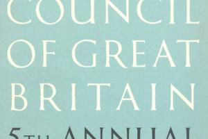 Cover of The Arts Council of Great Britain - 5th Annual Report 1949-50.