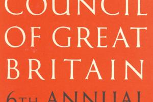 Cover of The Arts Council of Great Britain - 6th Annual Report 1950-51.