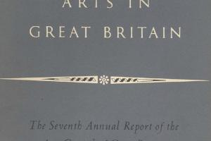 Cover of The Seventh Annual Report of the Arts Council of Great Britain 1951-1952.