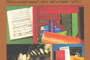 Cover of Arts Council of Great Britain - Thirty-second annual report and accounts 1976/77.