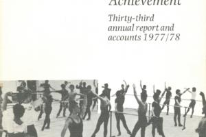 Cover of Arts Council of Great Britain - Thirty-third annual report and accounts 1977/78.