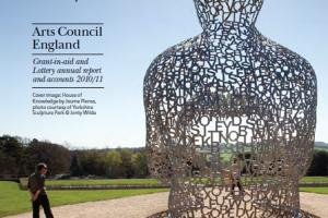 Cover of Arts Council England Annual Review 2010/11.