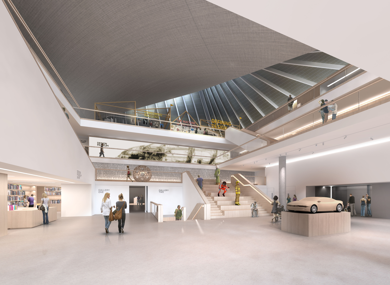 Foyer Museum London : Design museum announces move to kensington arts council england
